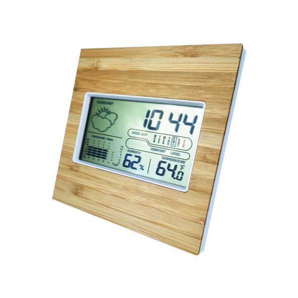 Bamboo Digital Clocks