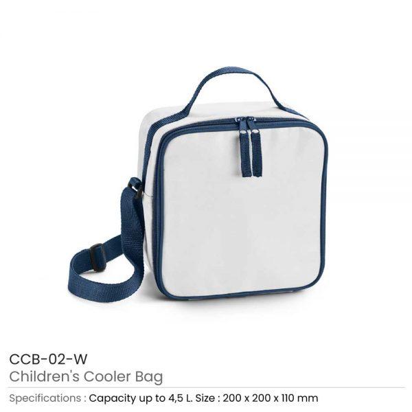 Children Cooler Bags White