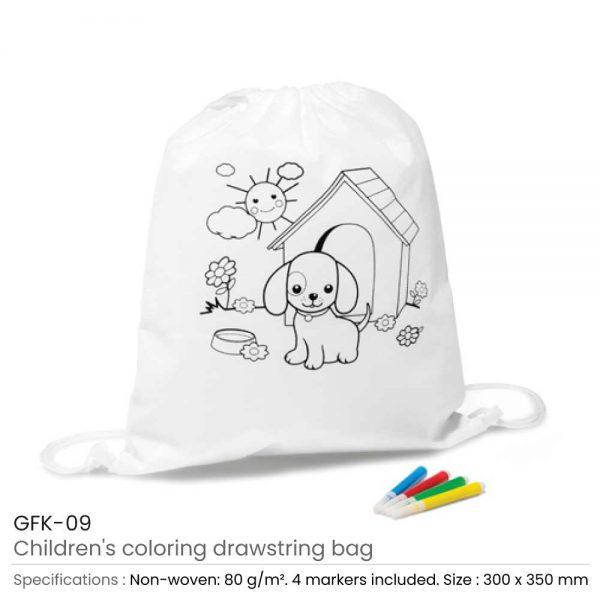 Children Draw String Bags