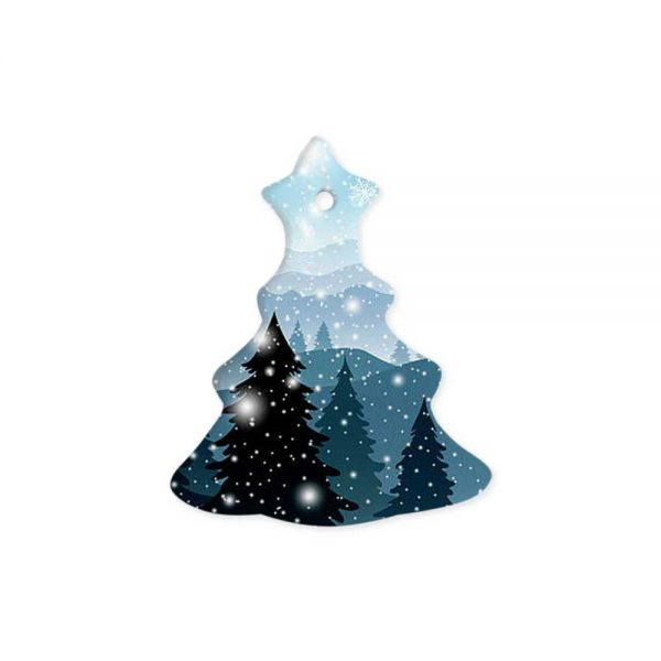 Christmas Tree Ceramic Ornaments