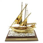 Dhow-Trophy-with-Wooden-Box-TR-01-tezkargift