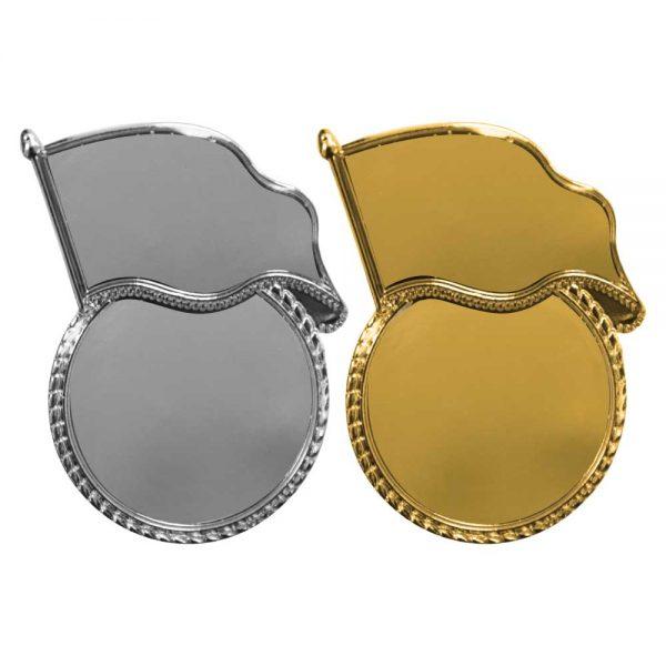 Flag Metal Badges
