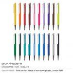 Flow-Texture-Pens-MAX-F1-GOM-W-allcolors