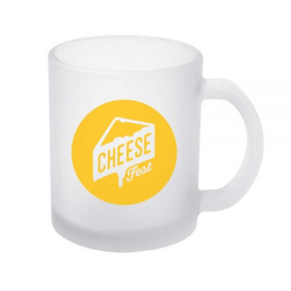 Branding Frosted Glass Mugs