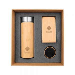 Branding Bamboo Gift Set