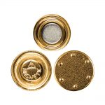 Gold Plated Round Magnets