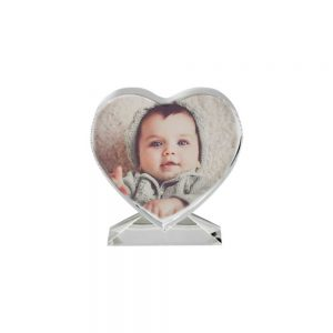 Personalized Heart shape Photo Crystals