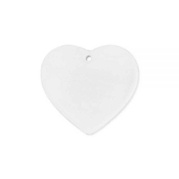 Heart ceramic ornaments