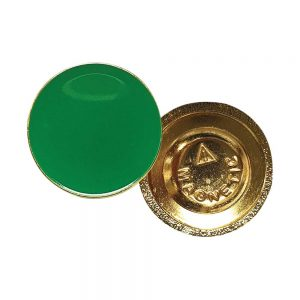 I Am Vaccinated Badge - Green imprint