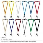 Lanyard-with-Clip-and-Mobile Holders-LN-011