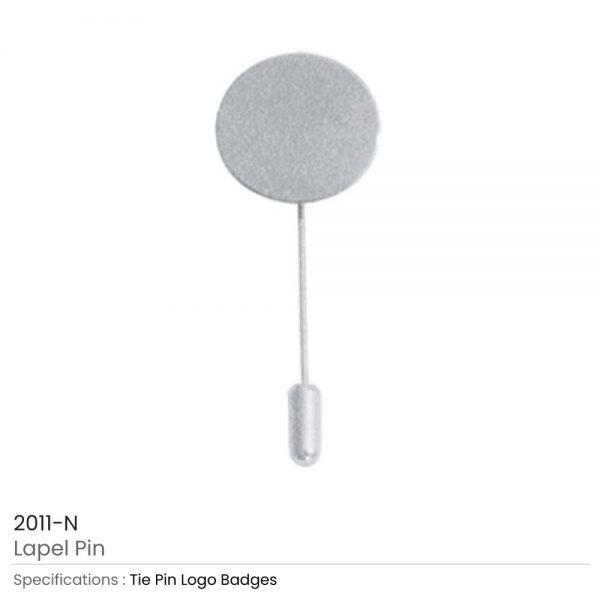 Lapel Pin Silver