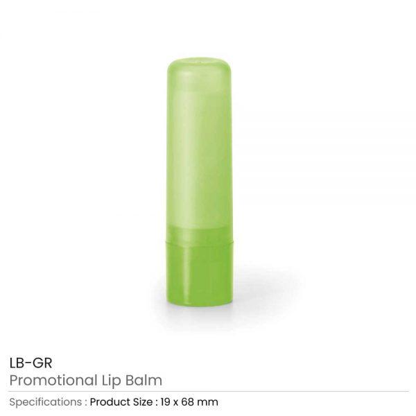 Lip Balms Green