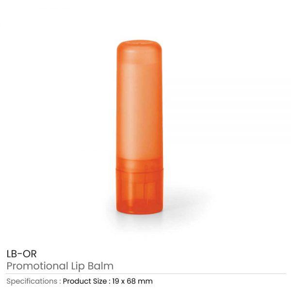 Lip Balms Orange