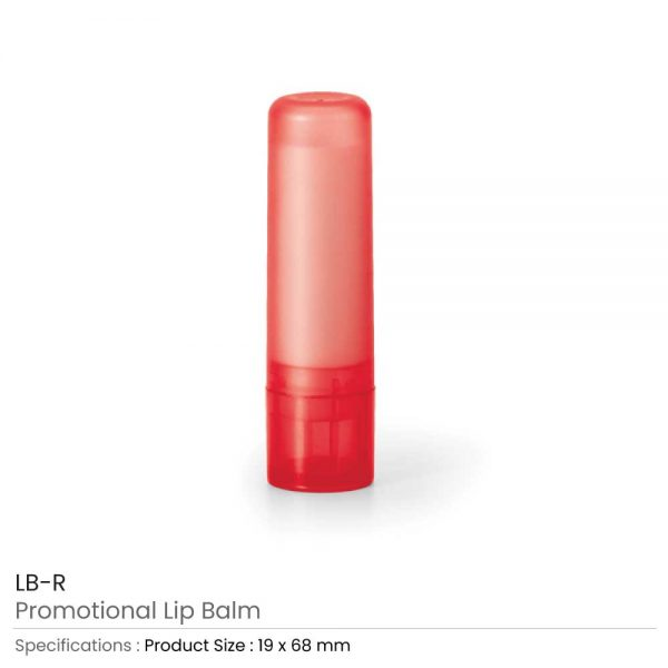 Lip Balms Red