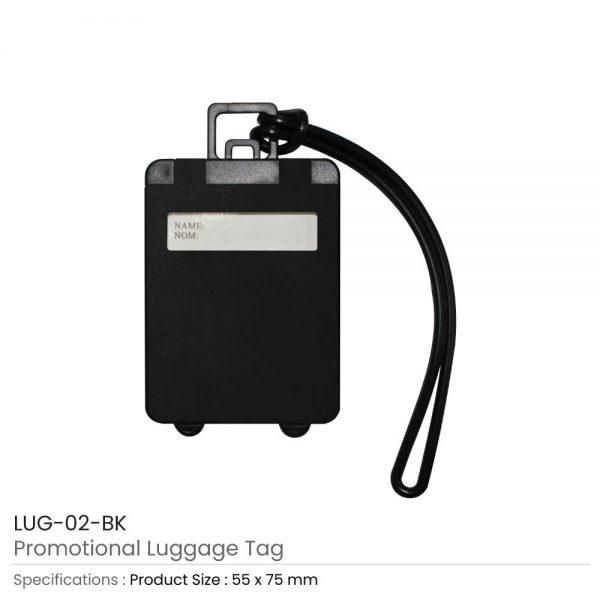 Luggage Tags Black