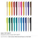 Maxema-Flow-Pure-Pens-MAX-F2P-MATT-allcolors