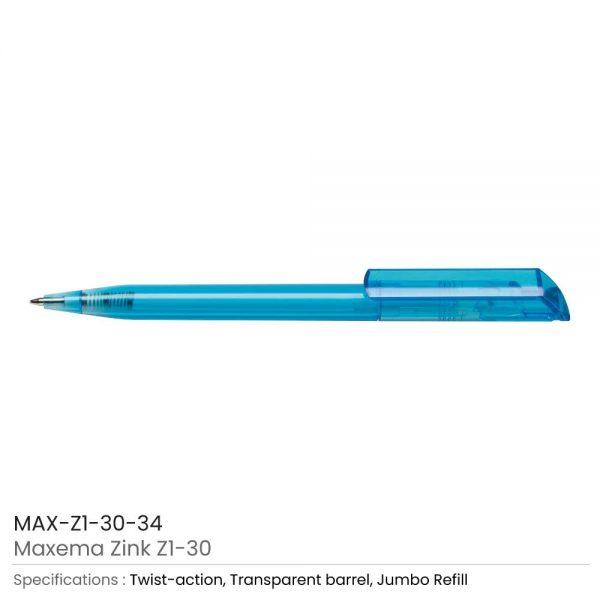 Maxema Zink Pen Transparent 34