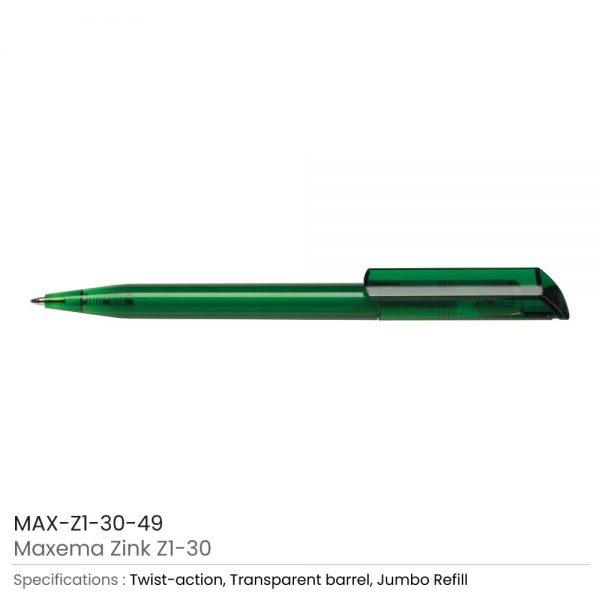 Maxema Zink Pen Transparent 49