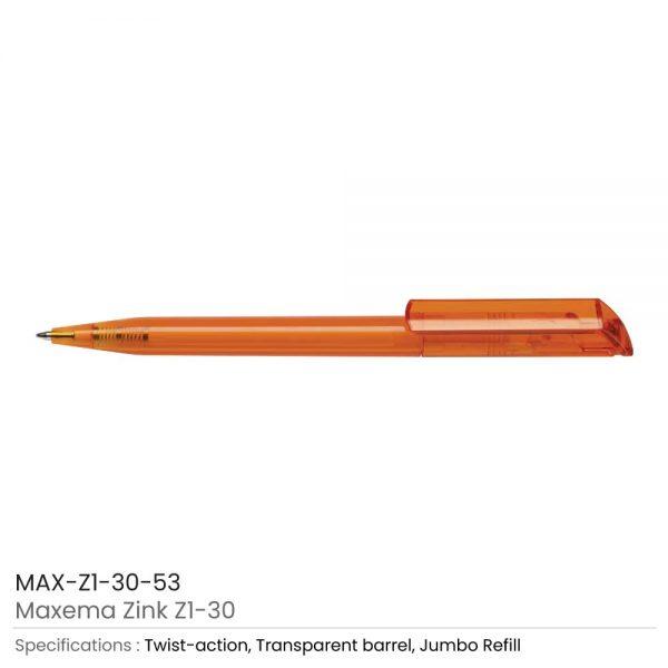 Maxema Zink Pen Transparent 53