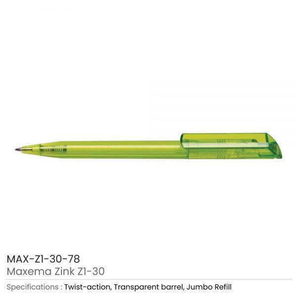 Maxema Zink Pen Transparent 78