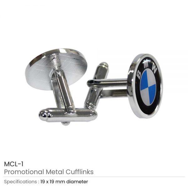 Metal Cuff Links