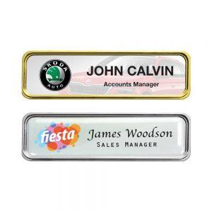 Printed Metal Injected Name Badge