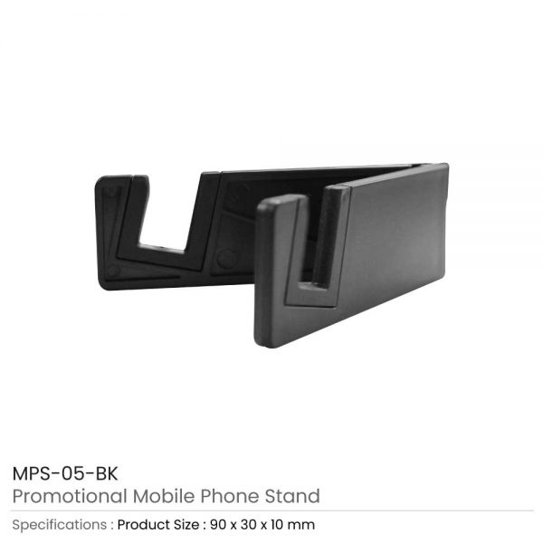 Mobile Phone Stands Black