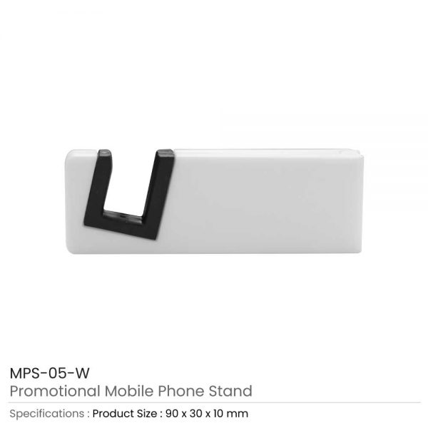 Mobile Phone Stands White