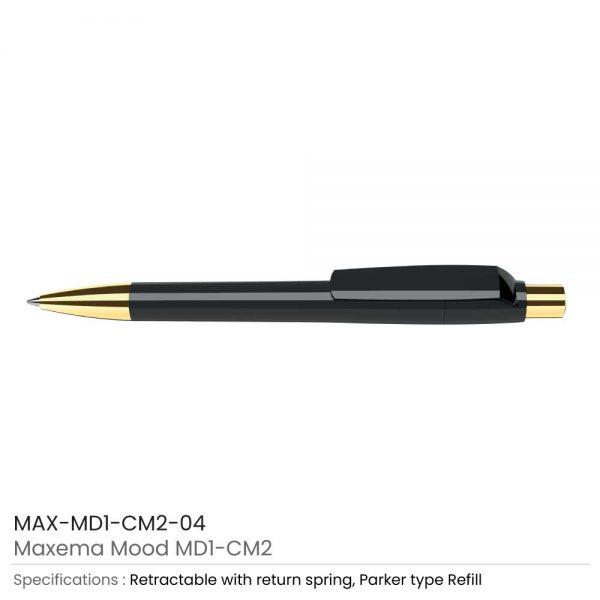 Maxema Mood Pens Black