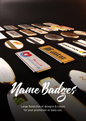Name badges Catalog