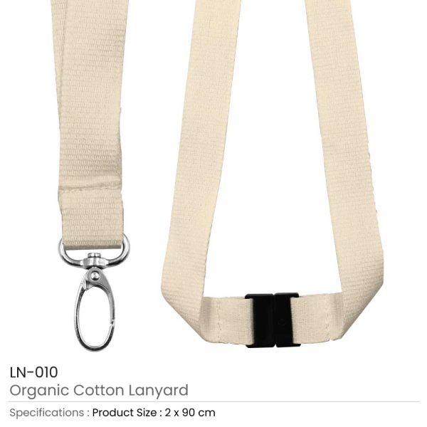 Organic Cotton Lanyards
