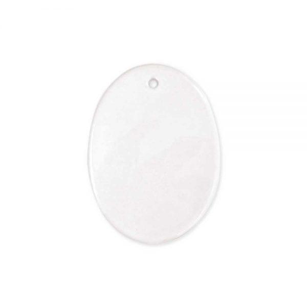 Oval Shape Ceramic Ornaments