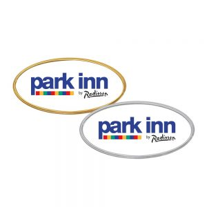 Promotional PVC Injected Oval Badges