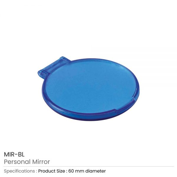 Personal Mirrors Blue