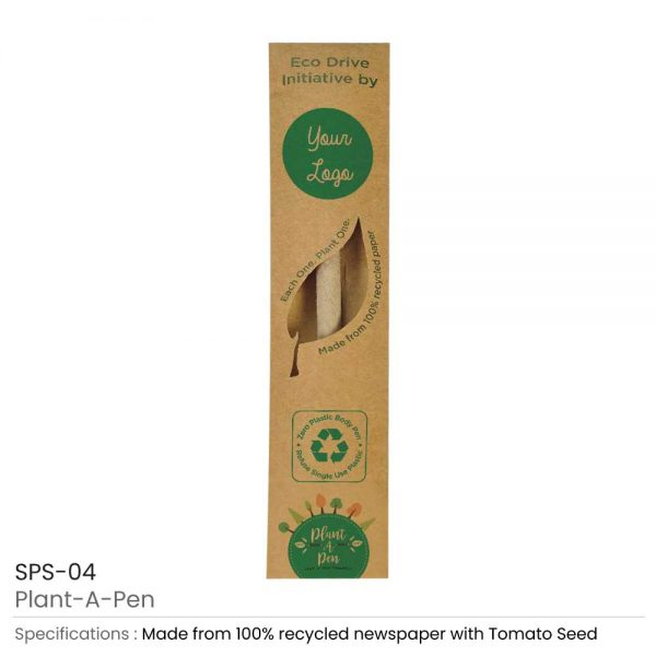 Plantable Pen with box
