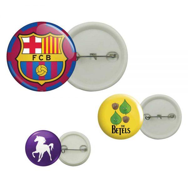 Plastic Button Badge Printing