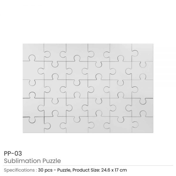 Puzzle in Hard Board Material