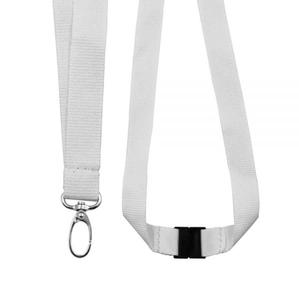 RPET Lanyards with Oval Hook & Safety Clip