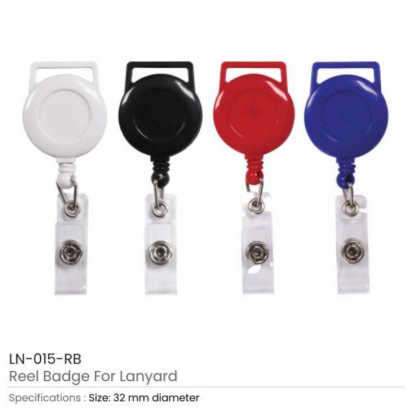 Reel Badges For Lanyard