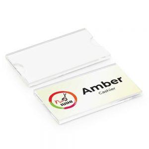 Reusable Insert Name Badges