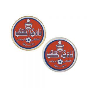Promotinal Round Flat Metal Badges