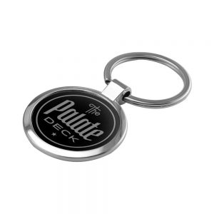 Promotional Round Shaped Metal Keychain