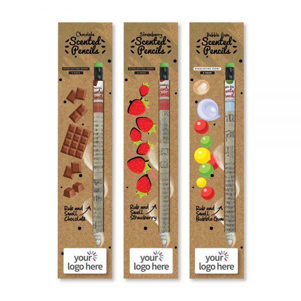 Branding Scented Pencils Sets