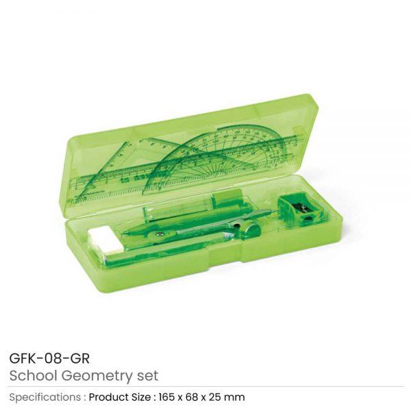 School Geometry Sets Green