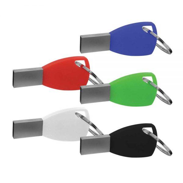 Silicone Key chain USB