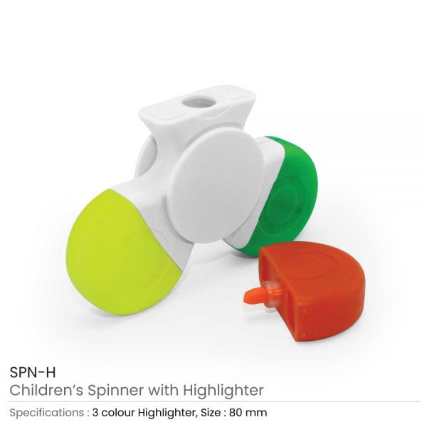 Spinner with Highlighters