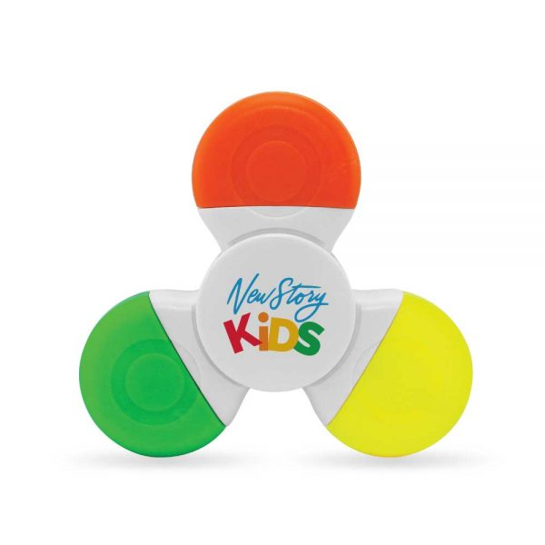 Promotional Spinner with Highlighters