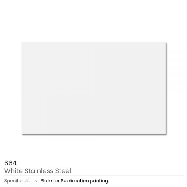 White Stainless Steel Metal Sheets