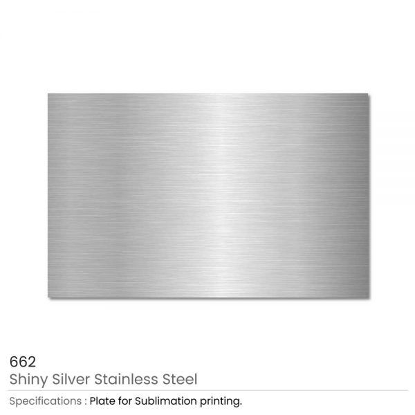 Shiny Silver Stainless Steel Metal Sheets