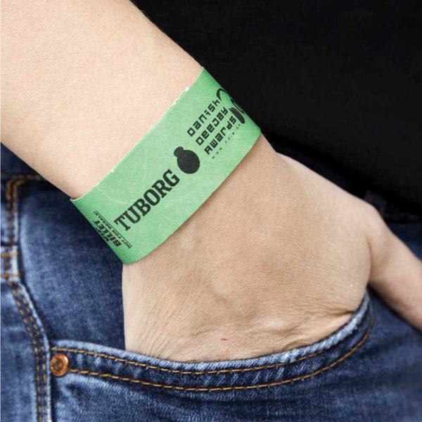 Tyvek Wristbands Sample